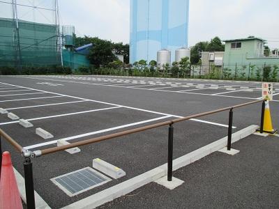 科学館普通車駐車場